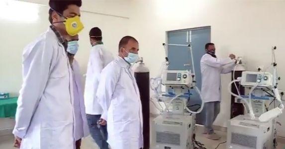 बडगाम में सेना ने बनाया 220 बेड वाला कोविड-19 अस्थाई अस्पताल,  मरीज़ों को मिलेगा बेहतर इलाज