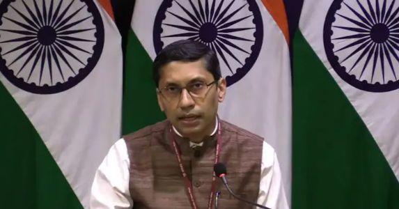 """""""भारत सरकार शांतिपूर्ण भविष्य और लोकतांत्रित अफगानिस्तान बनाने के लिए सरकार और लोगों का समर्थन करता है"""" – विदेश मंत्रालय प्रवक्ता"""